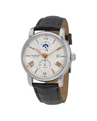 Montblanc Metallic 4810 Automatic Silvery White Dial Mens Watch for men