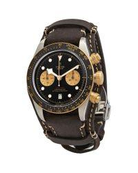 Tudor Black Bay S&g Chronograph Black Dial Mens Watch -0002 for men