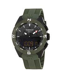 Tissot Black T Touch Expert Solar Ii Analog-digital Mens Watch for men