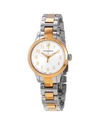 Victorinox Metallic Alliance Xs Quartz Silver Dial Ladies Watch