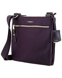 Tumi Ladies Tula Crossbody Bag In Purple