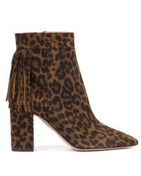 Aquazzura Ladies Brown Boots