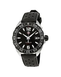 Tag Heuer Pre-owned Formula One Black Dial Mens Watch Waz1110.ft8023 for men