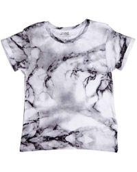 ELEVEN PARIS White Little Boys Short Sleeve Knit T-shirt, Brand for men