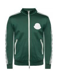 Moncler Green Logo Track Jacket for men