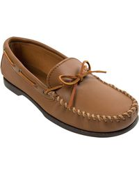 Jos. A. Bank - Brown Minnetonka Leather Moccasins for Men - Lyst