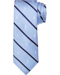 Jos. A. Bank - Blue 1905 Collection Stripe & Anchor Tie for Men - Lyst