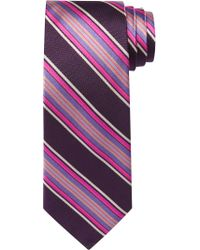 Jos. A. Bank Pink Reserve Collection Multi-stripe Tie for men