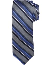 Jos. A. Bank - Blue 1905 Collection Heathered Stripe Tie for Men - Lyst