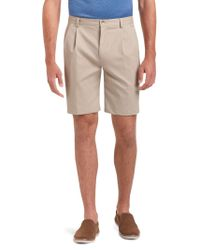 Jos. A. Bank - Brown Traveler Traditional Fit Shorts for Men - Lyst