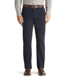 Jos. A. Bank - Blue Joseph Abboud Traditional Fit 5-pocket Sateen Pants Clearance for Men - Lyst