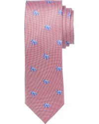 Jos. A. Bank - Purple 1905 Collection Bulldog Tie for Men - Lyst