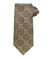 Jos. A. Bank - Metallic Signature Gold Large Circles Tie for Men - Lyst