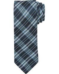 Jos. A. Bank | Blue Joseph Abboud Heritage Plaid Linen Tie for Men | Lyst