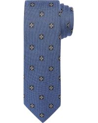 Jos. A. Bank Blue 1905 Collection Floral Dot Tie for men