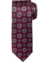 Jos. A. Bank Red Reserve Collection Medallion Tie Clearance for men