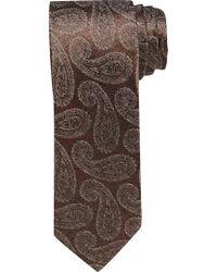 Jos. A. Bank Brown Joseph Abboud Paisley Tie for men
