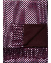 Jos. A. Bank - Blue Silk & Wool Scarf Clearance - Lyst