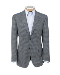 Jos. A. Bank - Gray Traveler Tailored Fit 2-button Sportcoat Clearance for Men - Lyst