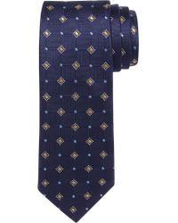 Jos. A. Bank - Purple Executive Collection Geo Tile Tie for Men - Lyst