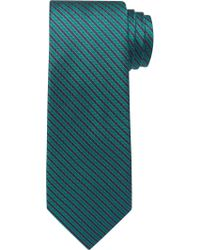 Jos. A. Bank - Green Traveler Collection Thin Stripes Tie for Men - Lyst