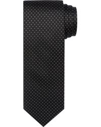 Jos. A. Bank - Black Reserve Collection Micro-check Tie for Men - Lyst