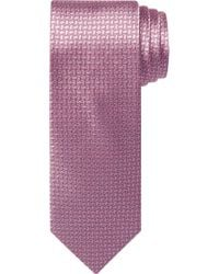 Jos. A. Bank Pink Traveler Collection Mini Geometric Pattern Tie for men