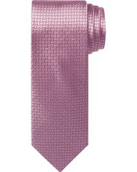 Jos. A. Bank - Pink Traveler Collection Mini Geometric Pattern Tie for Men - Lyst