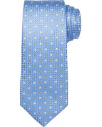 Jos. A. Bank | Blue Signature King Oxford Two-dot Tie for Men | Lyst