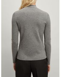 Joseph Gray Superfine Merinos High Neck Sweater