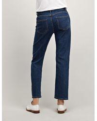 Joseph Blue Denim Stretch Den Trousers