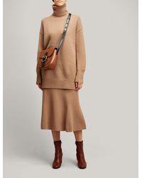 Joseph Multicolor Soft Wool Skirt