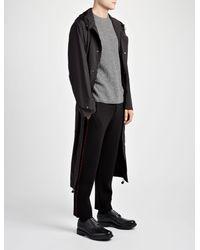 Joseph Black Double Face Knit Jogger for men
