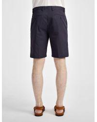 Joseph - Blue Light Cotton Jack Shorts for Men - Lyst