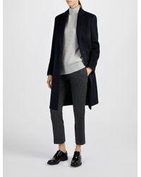 JOSEPH - Blue Wool Mart Coat - Lyst