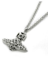 Vivienne Westwood - Metallic Harlequin Pendant Necklace - Lyst