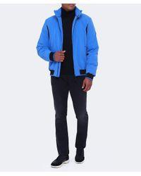 Geox Blue Lightweight Zip Jacket for men