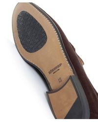 Stemar | Brown Sorrento Suede Penny Loafers for Men | Lyst