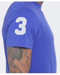 La Martina - Blue Crew Neck Pereira T-shirt for Men - Lyst