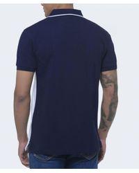 Hackett - Blue Aston Martin Racing Panel Polo Shirt for Men - Lyst