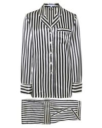 Olivia Von Halle. Women s Striped Silk Lila Pyjama Set 7438b8a19