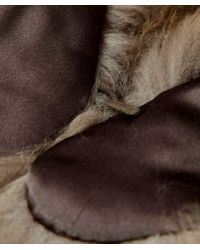 Yves Salomon - Natural Fur Collar - Lyst