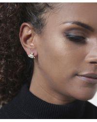 Vivienne Westwood - Metallic Oona Bas Relief Earrings - Lyst