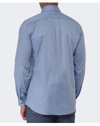 Vivienne Westwood Blue Two Button Orb Twill Shirt for men