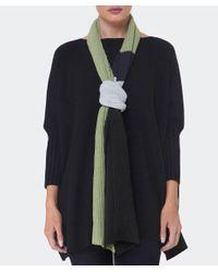 Oska - Multicolor Wool Stripe Plissee Scarf - Lyst