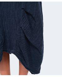 Grizas - Blue Oriental Silk Skirt - Lyst