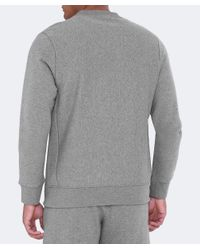 PS by Paul Smith - Gray Organic Cotton Zebra Sweatshirt for Men - Lyst