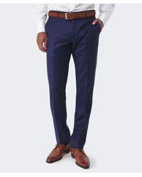 Corneliani Blue Wool Trousers for men