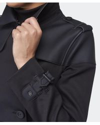 Hunter Black Original Bonded Trench Coat