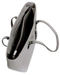 MICHAEL Michael Kors Gray Jet Set Top-zip Large Travel Tote Bag